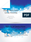 Deductions From Gross Income Short