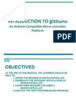 Introduction to Arduino Microcontroller