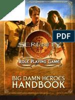 Serenity - Big Damn Heroes Handbook
