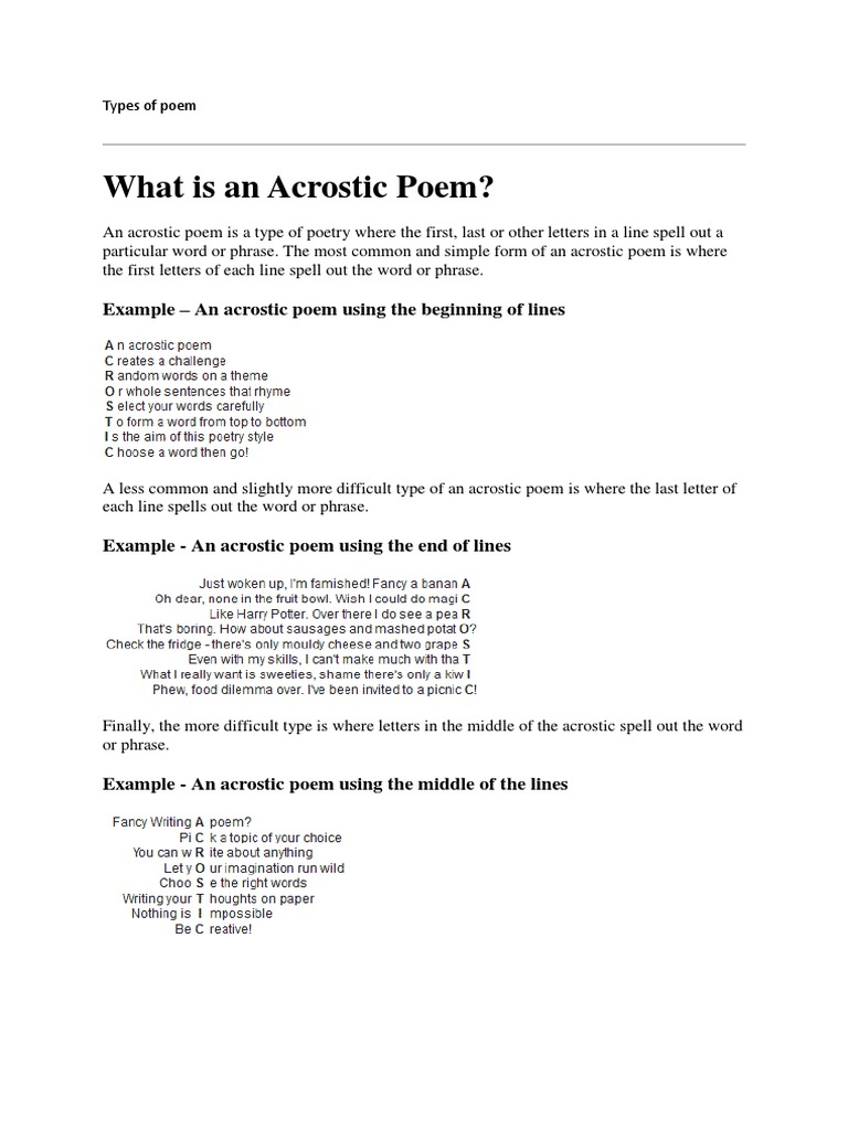 What is a poem 80