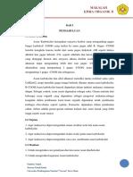 Laporan Praktikum Kimia Organik Percobaan Asam Karboksilat