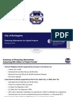 PFM Presentation to Burlingame City Council for 2-29-16