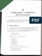 Orientações Metodologia