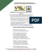 INFORMATIVO Nº 0024/CBLP/DRI/ALB-HOMENAGEM ACRÓSTICA para o Presidente NELSON MAIA SCHOCAIR-PRESIDENTE -ALB/RJ-17-AGOSTO-2010