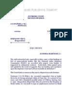 G & M (Philippines), Inc. vs. Cruz, G.R. No. 140495, April 15, 2005