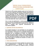 Organizacion de documentos digitales