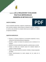 Practicas Empresariales 2015 Ing Met Competencias