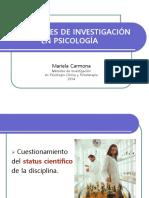 Tradiciones de Investigación en Psicología