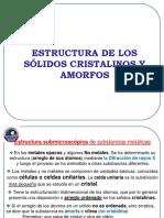 3.Materiales Cristalinos y Amorfos