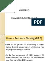 Topic 05 HR Planning
