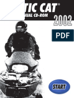 2002 Arctic Cat Mountain Cat 570 SNOWMOBILE Service Repair Manual