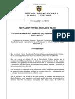 Resolucion1023 2005 Adopcion Guias Ambientales