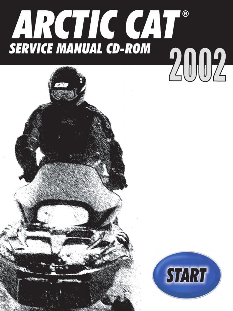 2002 Arctic Cat Pantera 550 SNOWMOBILE Service Repair Manual.pdf | Gasoline  | Belt (Mechanical)