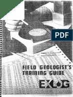 Field Geologist's Training Guide