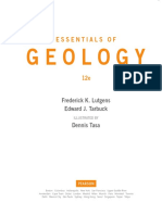 Essentials of Geology Contents