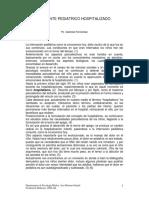 PACIENTE PEDIATRICO HOSPITALIZADO - Ps. Gabriela Fernandez.pdf