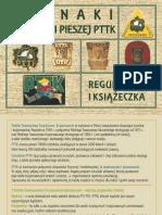 Odznaki PTTK Odznaki Turystyki Pieszej Ksiazeczka