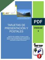 Unidad 4- Tarjetas de Presentacion y Postales