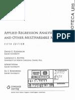 Análisis de Regresión - Kleinbaum