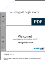 Navug Build Event Chicago