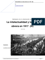 Mandel, David. La Intelectualidad y La Clase Obrera en 1917 (III)