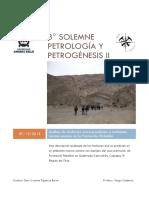 Solemne 3 Petrogenesis