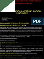 Patrimonio Historico, Artistico, Cultural y Subacuatico