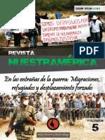 """Revista nuestrAmérica, vol 5, número 10 """"En las entrañas de la guerra"""