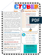 october 3m classroom newsletter 2017