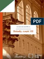 Dziady Czesc III
