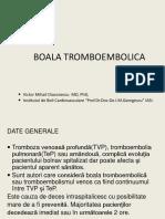 Boala Tromboembolica Fin