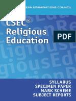 Religous Education Syllabus