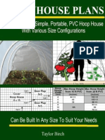 Greenhouse Plans How To Build A Simple, Portable, PVC Hoop House With Various Size Configurations.epub