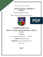 Práctica 4 - Producción de Biodiesel