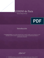 Acuerdo de Paris