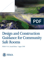 FEMA P 361 Community Safe Room