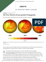 Die CO2-Theorie ist nur Propaganda