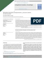 Microbiota Intestinal y Envejecimiento