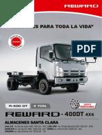 Camiones Isuzu Reward-400DT 2016