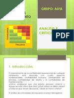 Analisis e Criticidad Diapositivas
