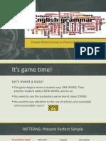 Presentación_Present Perfect Simple and Continuous