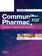 Paul Rutter BPharm MRPharmS PhD Community Pharmacy Symptoms, Diagnosis and Treatment, 3e