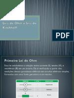 4 Leis de Ohm e Leis de Kirchhoff