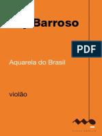 Ary Barroso -  Aquarela do Brasil violão