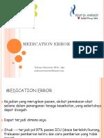 Medication Error Ppt