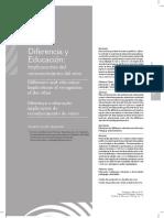 Diferencia y Educación