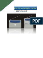 PSTN Alarm Manual