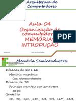 Aula 04 - Memorias