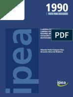 A Agenda Perdida Das Compras Públicas - Rumo a Uma Reforma Abrangente Da Lei de Licitações