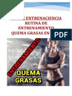 Entrenamiento FUERZA Metabólica Quemagrasas Casa